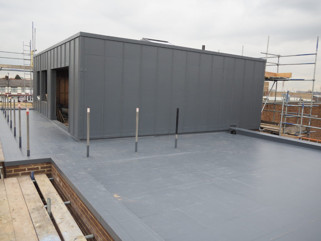 Rubik S Cube Roof Solved By Contour Roofing And Sika